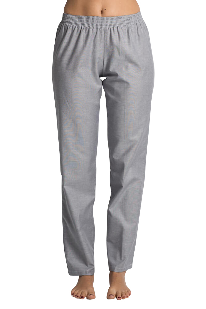 6652714660a Pantalon médical gris pour Femme - Pantalons de travail pas cher