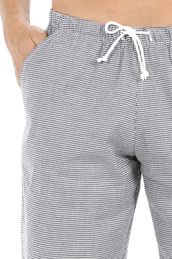 Pantalon De Cuisine Homme Imprimé Pied De Poule