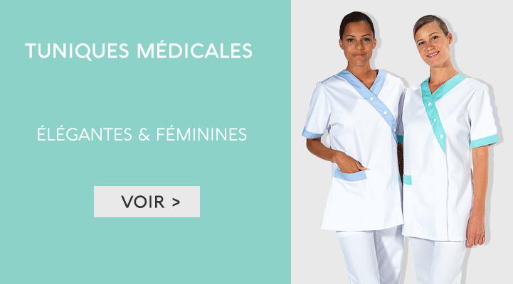 Tunique et blouse médicale Femme