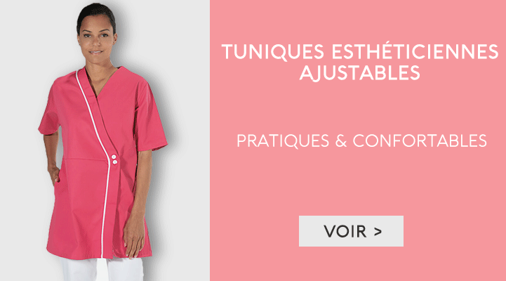 Tuniques et blouse estheticienne