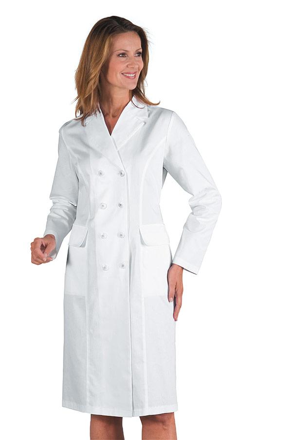 blouse blanche femme doubles boutonnage 100 coton. Black Bedroom Furniture Sets. Home Design Ideas