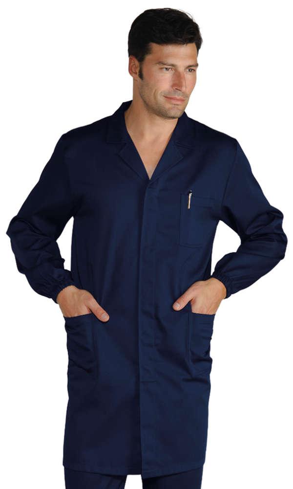 blouse bleue de travail homme v tements de travail. Black Bedroom Furniture Sets. Home Design Ideas