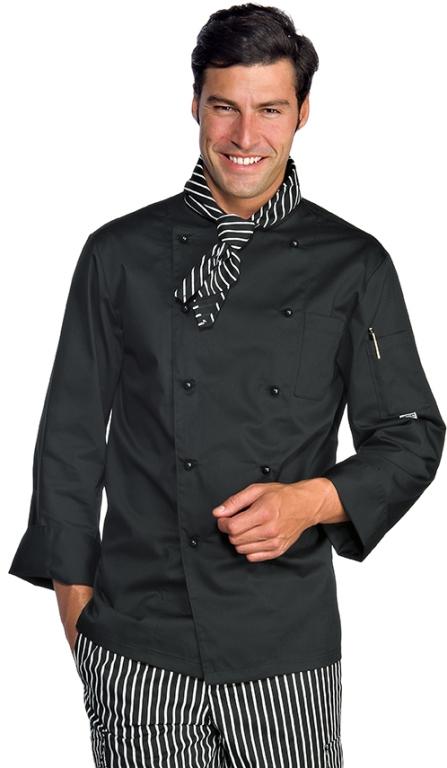 Cuisinier Cuisinier Polycoton De 4xl Homme Veste Chef Cuisine Noir Vêtements Vêtements Vêtements qO1gBSw