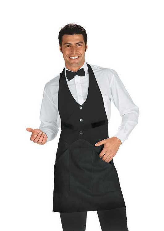 tenue de serveur en salle
