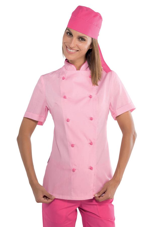 Extra Léger De Vestes Cuisine Veste Dcxerowb Pour Rose Tissu Femme dCrxEoeWQB