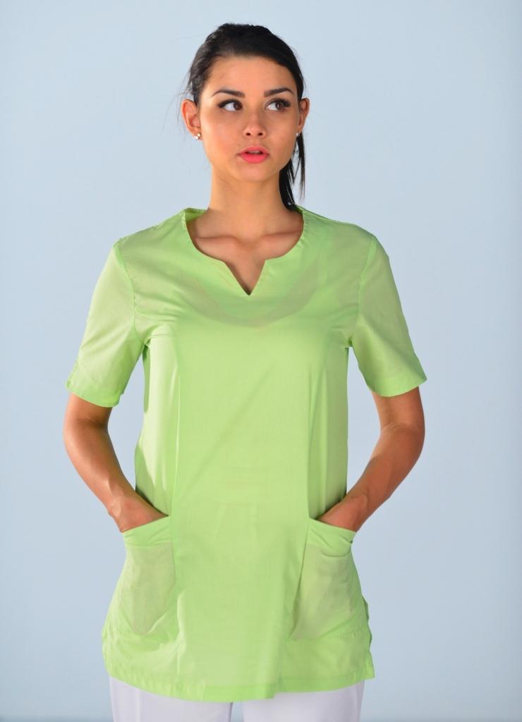 tunique m dicale verte anis alice blouse m dicale couleur. Black Bedroom Furniture Sets. Home Design Ideas
