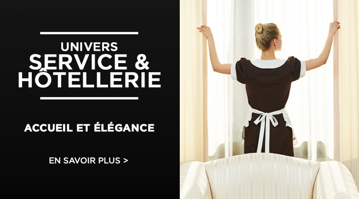 Vêtement hotellerie, et uniformes hotellier