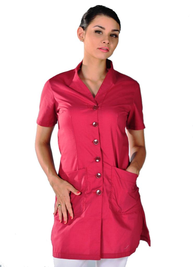 blouse esth tique luxa lit de vin tuniques et blouses estheticienne tuniques manches courtes. Black Bedroom Furniture Sets. Home Design Ideas