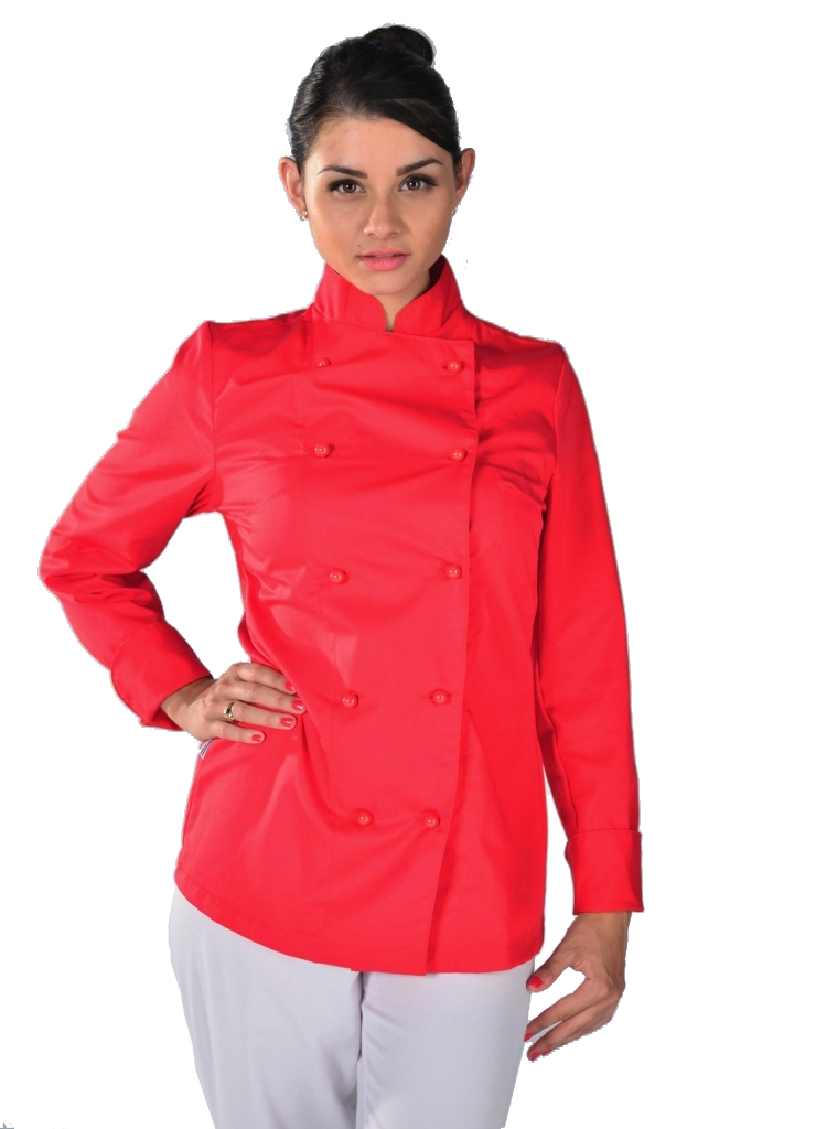 Veste De Cuisine Orange