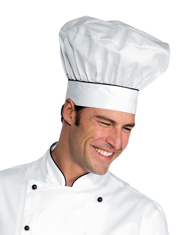 chapeau chef cuisinier blanc noir cuisine. Black Bedroom Furniture Sets. Home Design Ideas