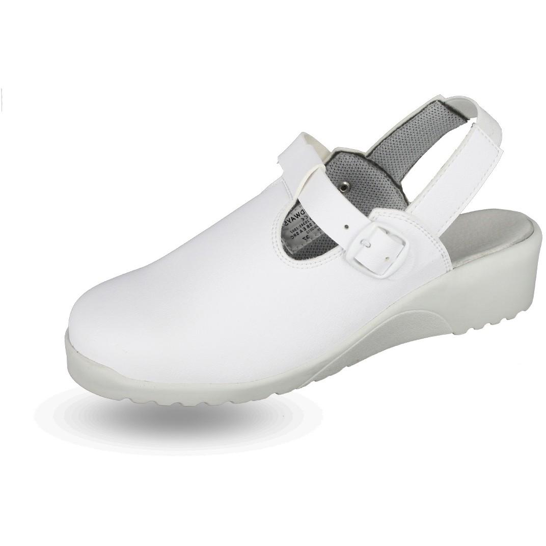 Sabot de s curit femme nadine blanc nordways chaussures for Sabot de securite cuisine