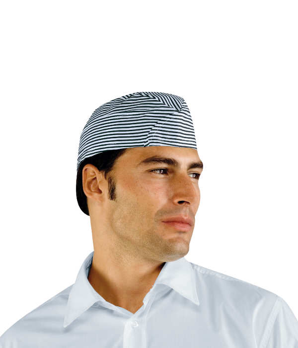 calot de cuisinier ray bleu coiffes de cuisine calot et beret de cuisine. Black Bedroom Furniture Sets. Home Design Ideas