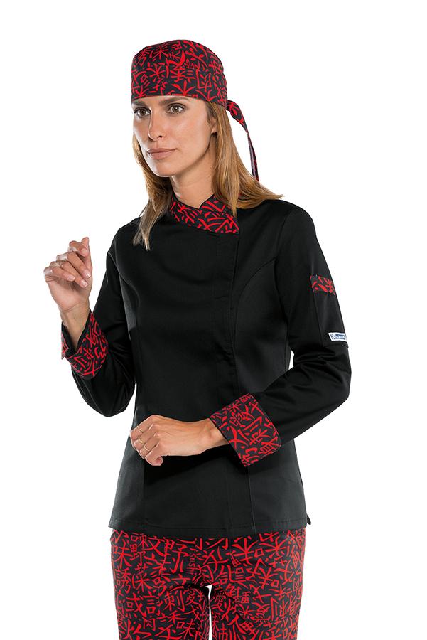 Veste de cuisine femme sushi collection blouse de cuisine - Clement veste de cuisine ...