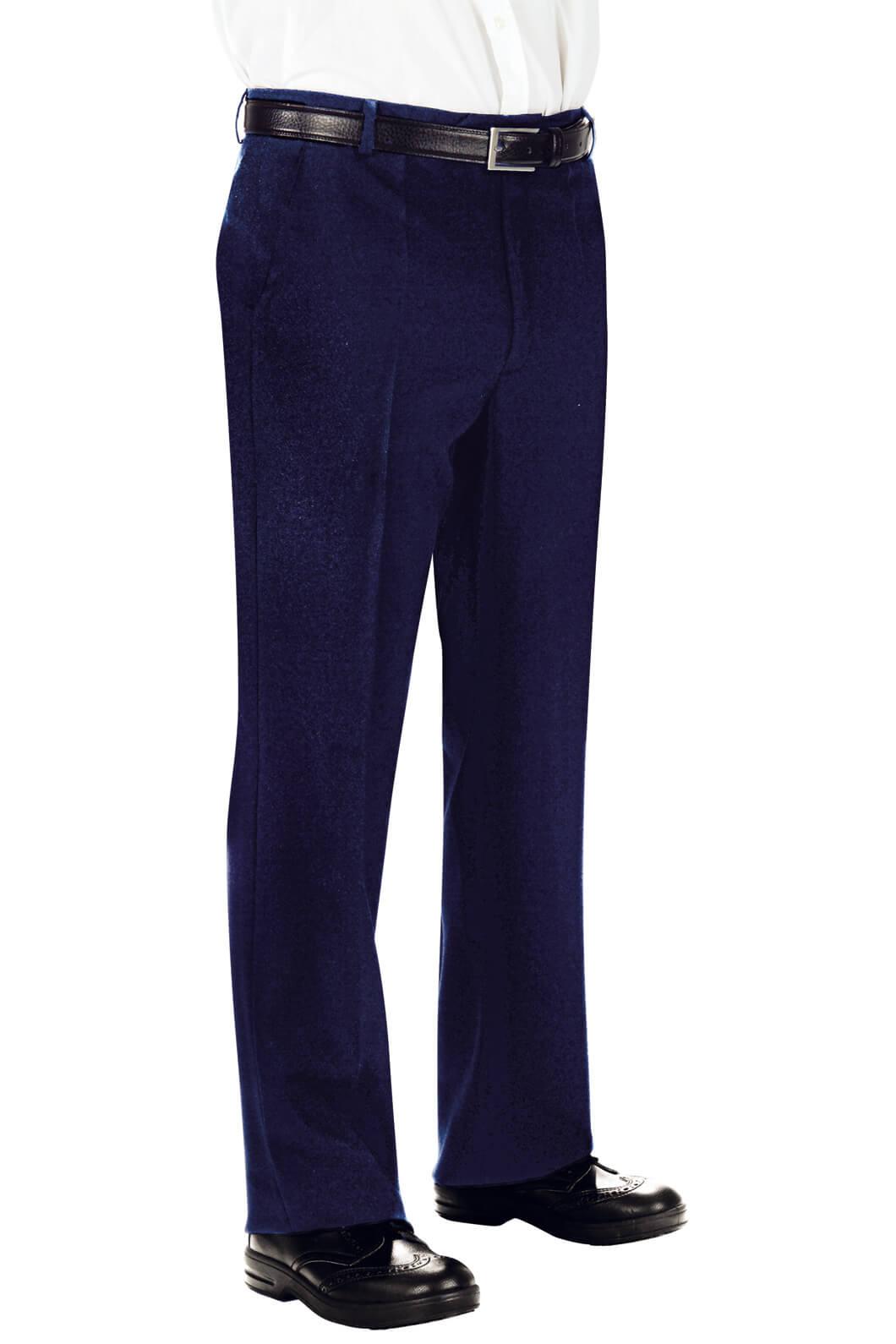 pantalon homme 100 laine bleu restauration et r ception pantalons et bermudas de service. Black Bedroom Furniture Sets. Home Design Ideas