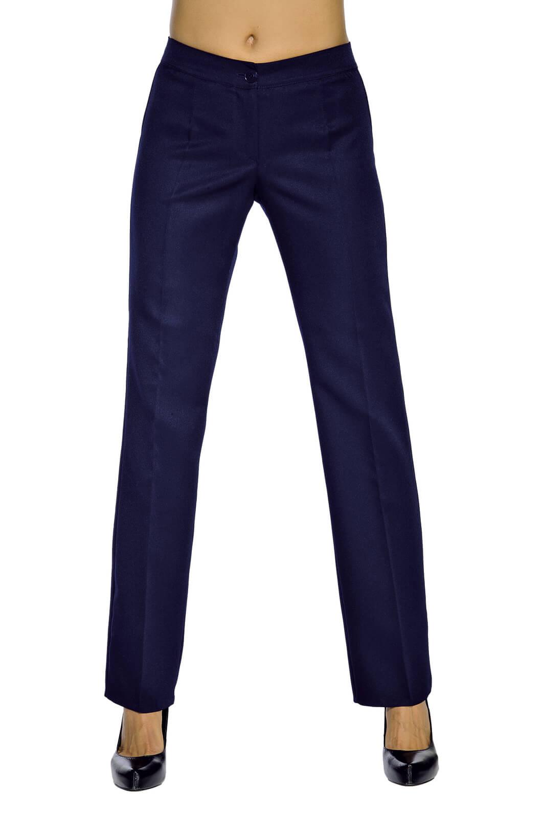 pantalon femme bleu marine coupe droite restauration et. Black Bedroom Furniture Sets. Home Design Ideas