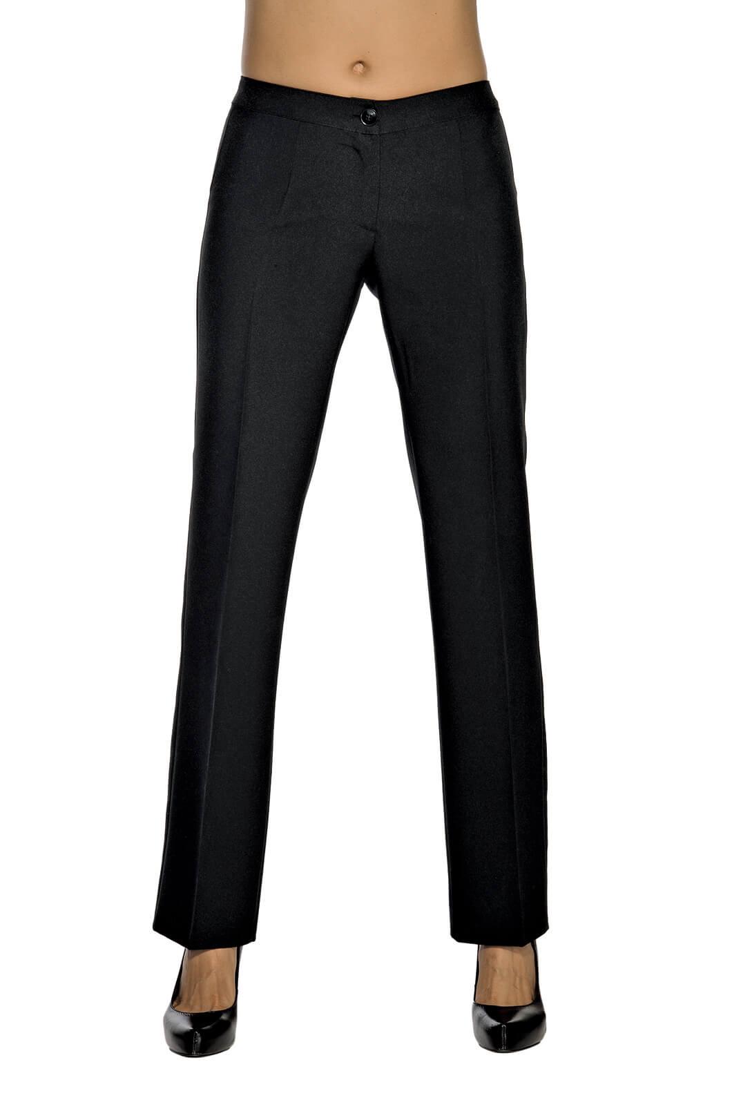 Pantalon-Stretch-Femme-Noir