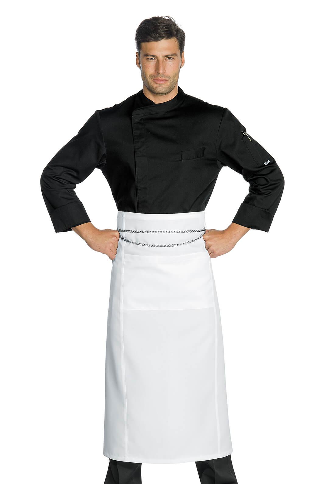 Veste chef cuisinier suzuka microfibres super dry noir for Cuisinier 71