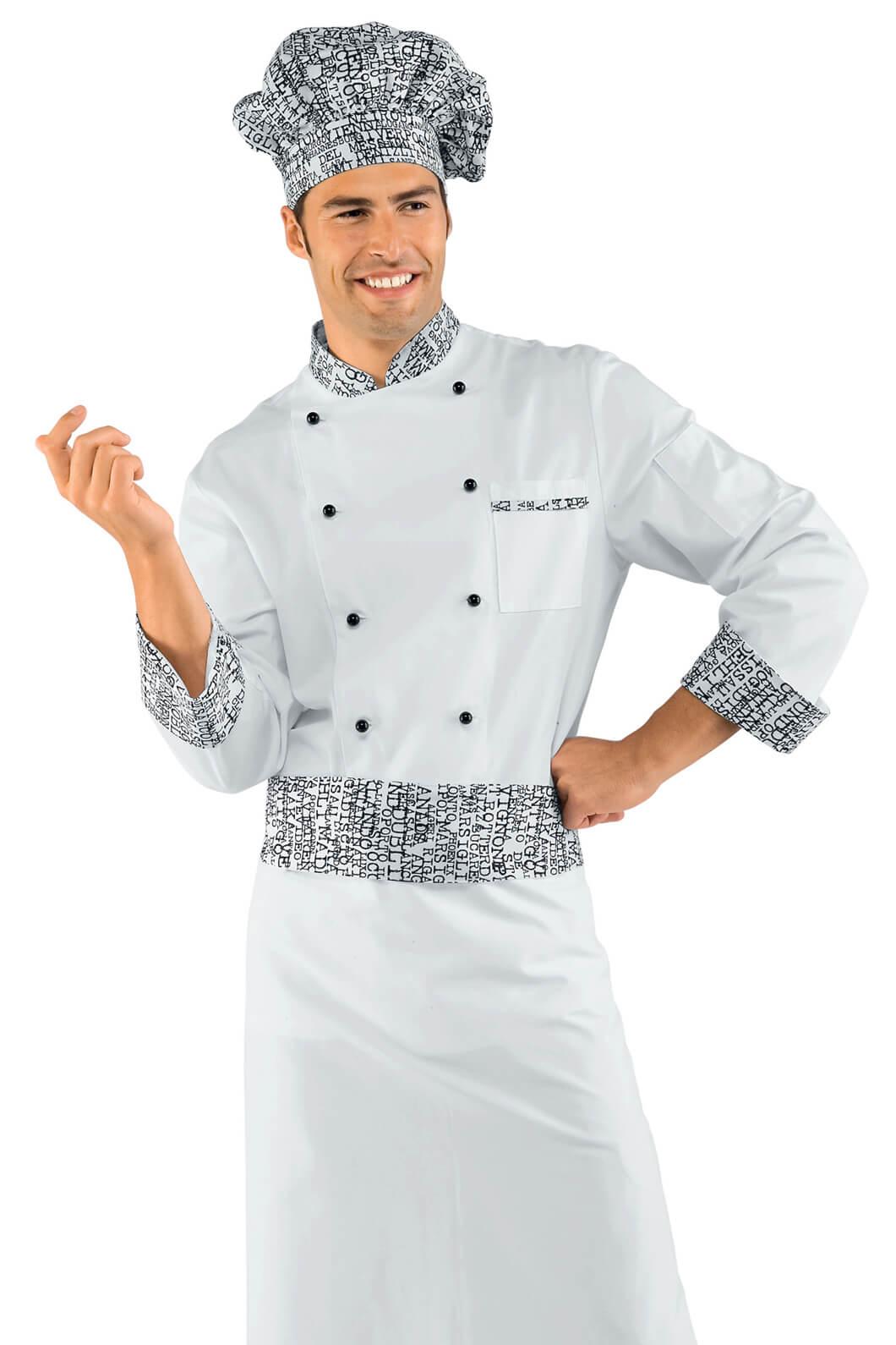Veste chef cuisinier new york 100 coton for Cuisinier 78
