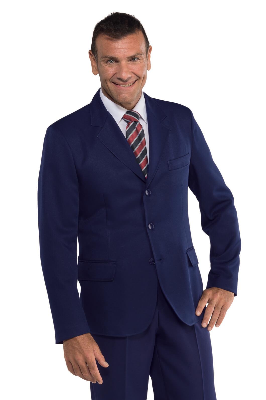 veste homme 3 boutons bleu hotellerie veste uniforme. Black Bedroom Furniture Sets. Home Design Ideas