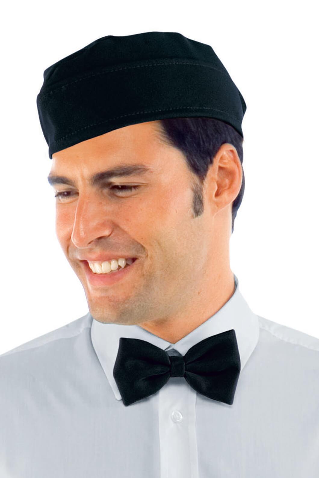 Calot de cuisinier noir coiffes de cuisine et calots de for Cuisinier particulier