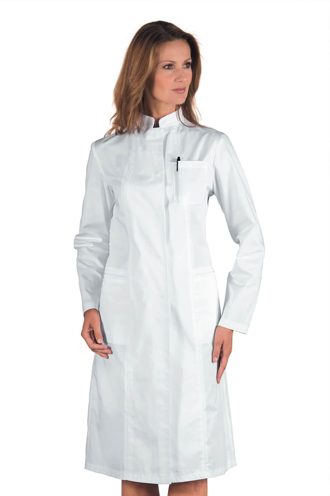 blouse m dicale blanche ponza. Black Bedroom Furniture Sets. Home Design Ideas