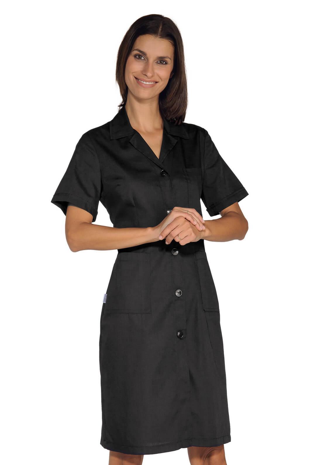 blouse de travail femme noire. Black Bedroom Furniture Sets. Home Design Ideas
