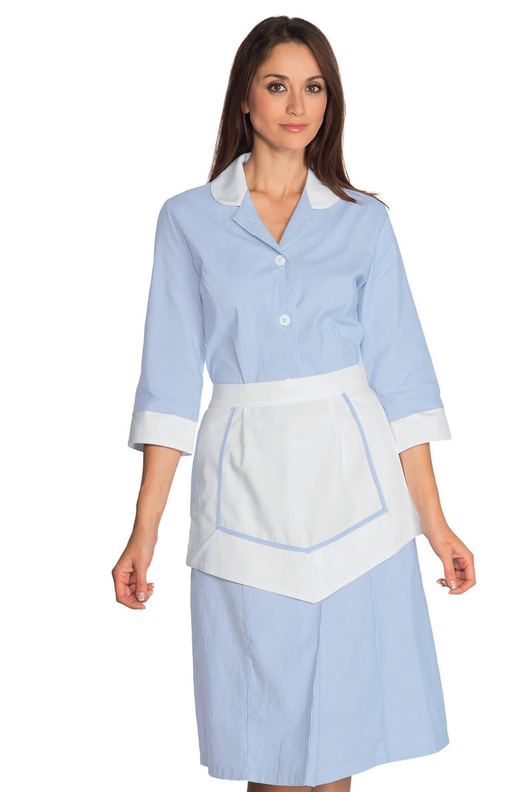 ensemble femme de chambre 100 coton blouse femme de chambre. Black Bedroom Furniture Sets. Home Design Ideas