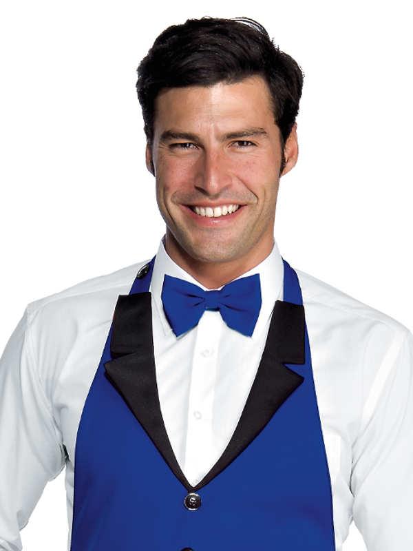 noeud papillon bleu cyan hotellerie cravates foulards et noeuds. Black Bedroom Furniture Sets. Home Design Ideas