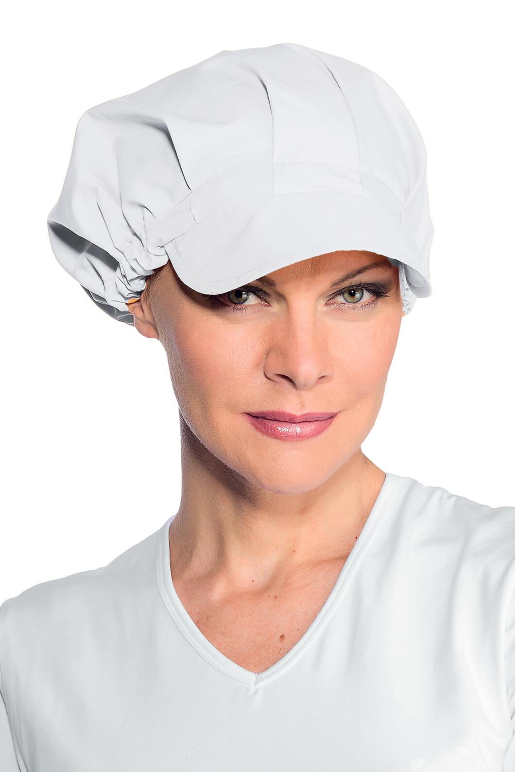 casquette de cuisine femme blanc chapeaux de cuisine isacco. Black Bedroom Furniture Sets. Home Design Ideas