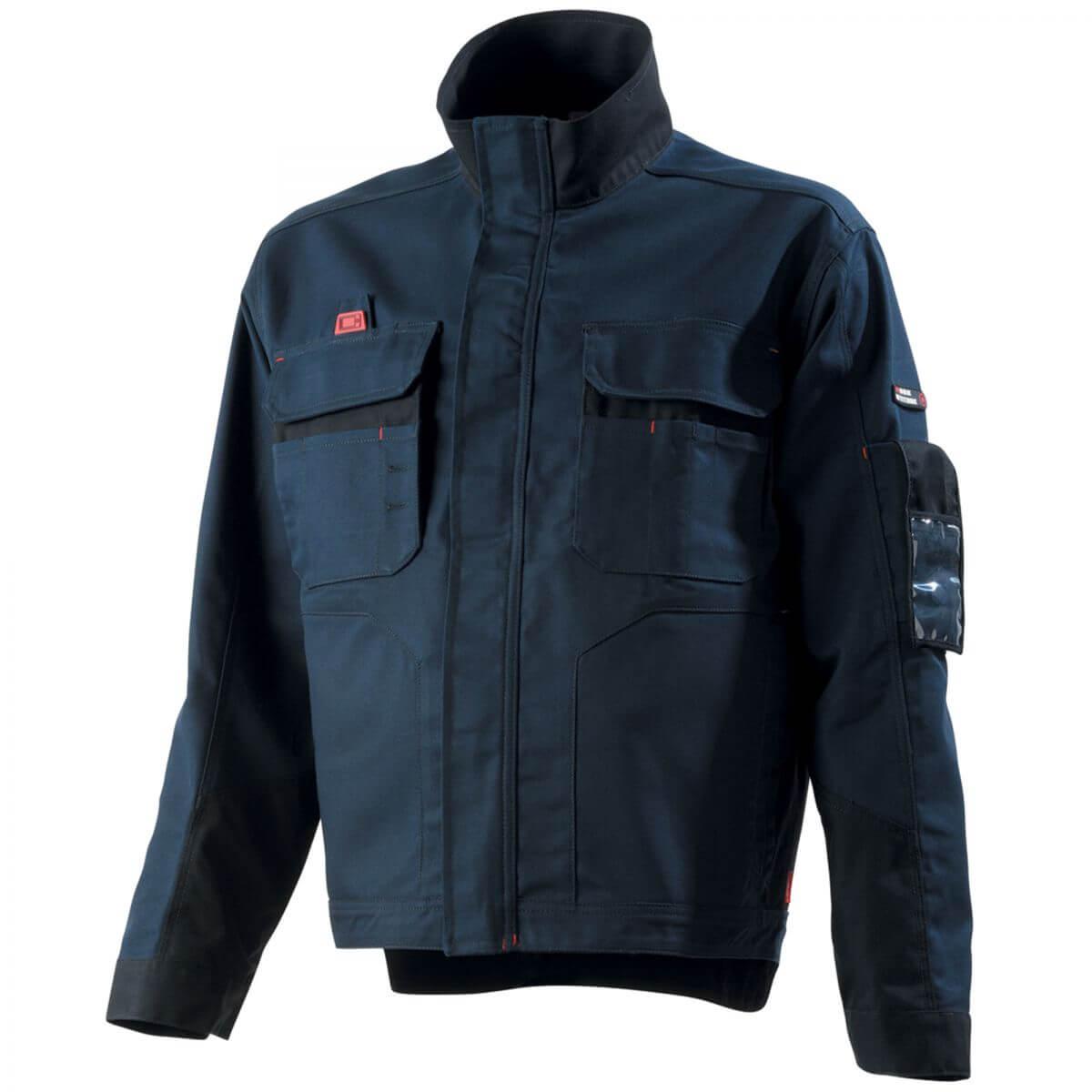 veste de travail homme bleu marine et noir adolphe lafont vestes et blousons de travail. Black Bedroom Furniture Sets. Home Design Ideas