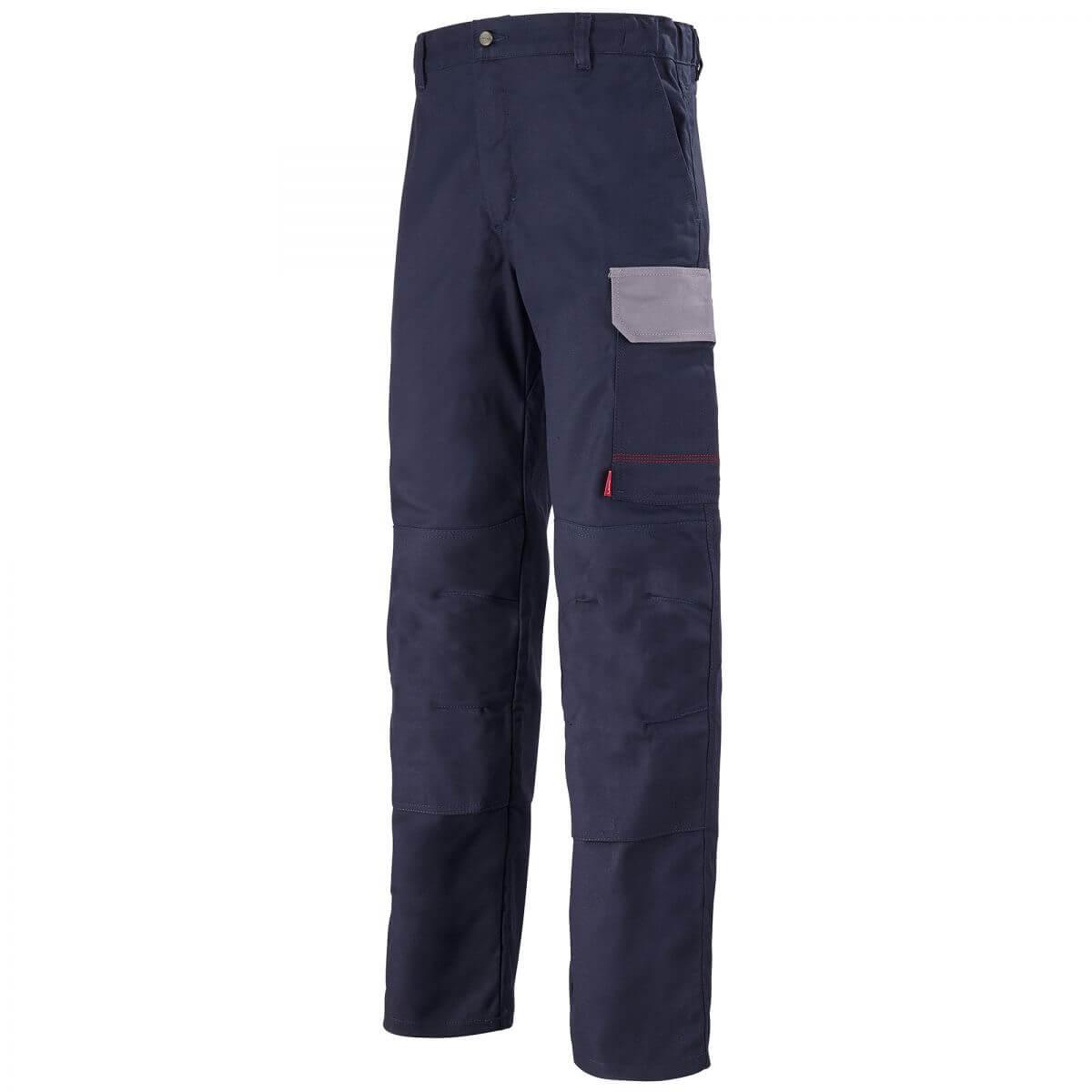 pantalon de travail bleu marine et gris acier muffler pantalons de travail. Black Bedroom Furniture Sets. Home Design Ideas