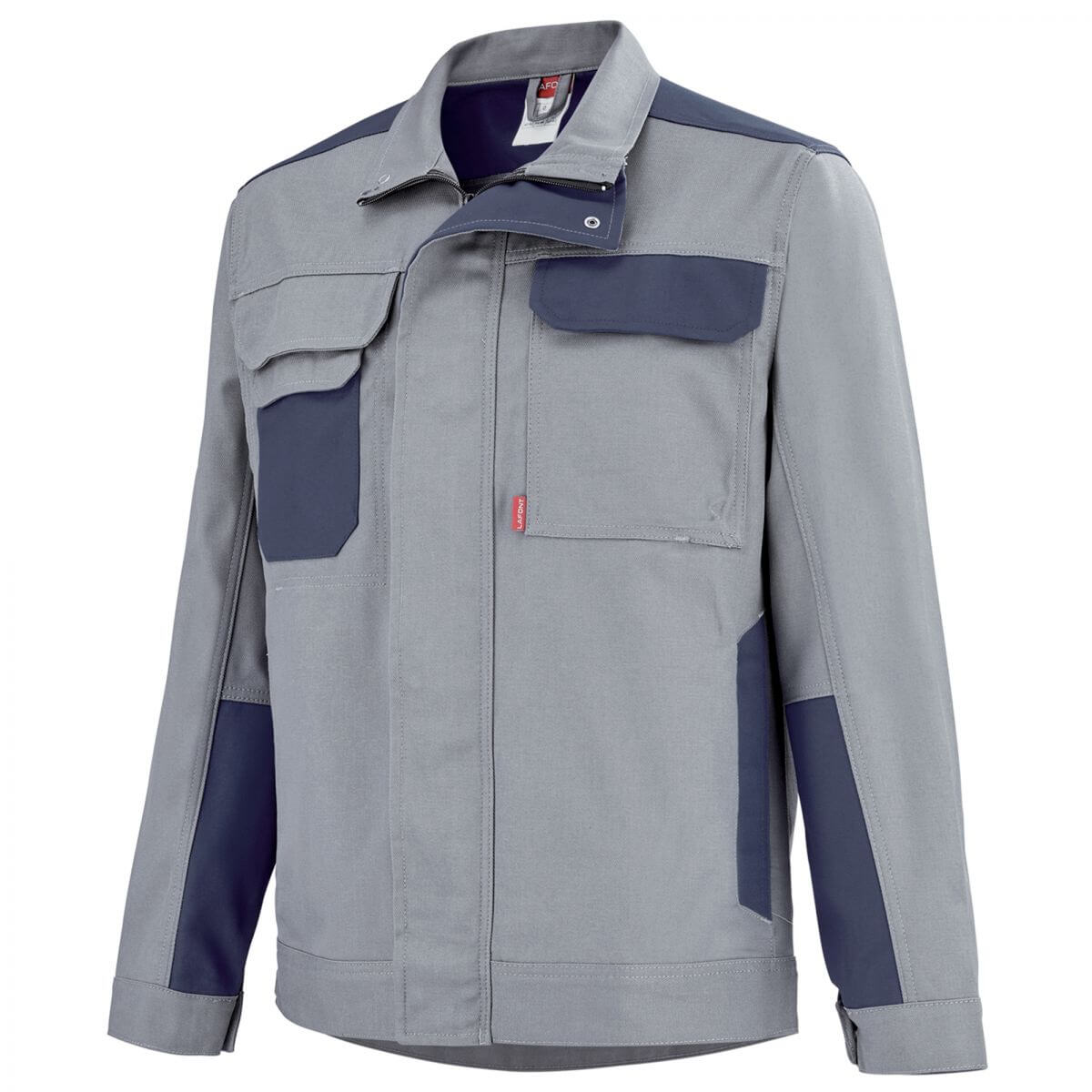 blouson de travail gris acier bleu marine a lafont vestes et blousons de travail. Black Bedroom Furniture Sets. Home Design Ideas