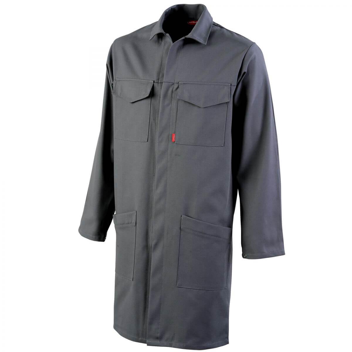 blouse de travail gris multipoches pour homme blouse de travail blouse de travail homme. Black Bedroom Furniture Sets. Home Design Ideas