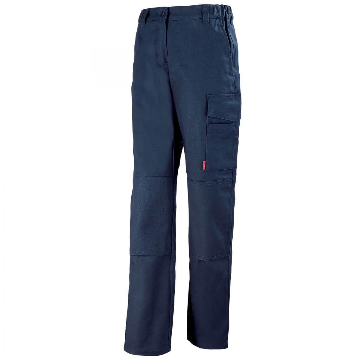 pantalon de travail femme bleu marine pantalons de. Black Bedroom Furniture Sets. Home Design Ideas