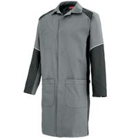 Blouse de travail / Securité Homme à manches longues gris et charbon warm