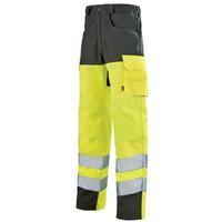 Pantalon de travail jaune hivi / gris
