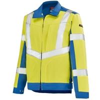 Blouson de travail Haute visibilité jaune fluo et bleu A. Lafont