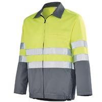 Blouson Haute visibilité jaune hivi / gris acier Sapivog A. Lafont