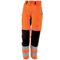 Pantalon femme femme orange hivi / noir tara