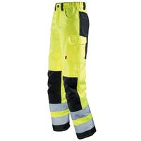 Pantalon Hivi homme jaune fluo noir star