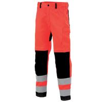 Pantalon Hivi homme rouge fluo noir star