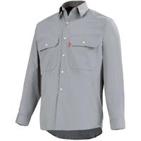 Chemise de travail gris acier road