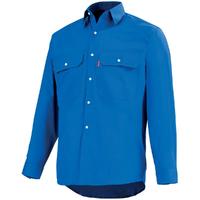 Chemise bleu bugatti road