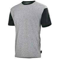 Tee-shirt raglan gris / noir