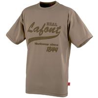 Tee-shirt manches courtes beige nikan