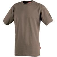Tee-shirt Homme manches courtes marron tadi
