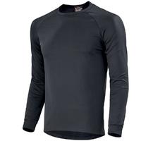 Tee-shirt thermique manches longues noir philotas