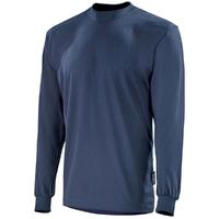 Tee-shirt à manches longues bleu marine miltiade