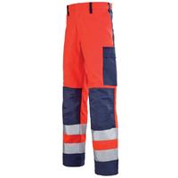 Pantalon de travail Homme rouge hivi et bleu marine mars