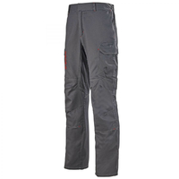 Pantalon de travail ergonomique multirisques gris charbon aetius